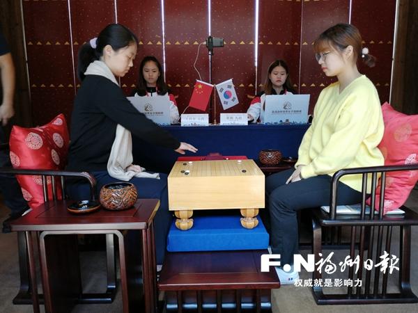 """第二届""""吴清源杯""""世界女子围棋赛决赛举行"""