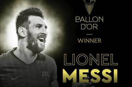 梅西�L六夺金球奖 巴萨成赢金球奖最多俱乐部