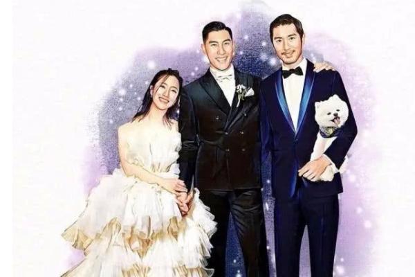 网友画高以翔参加婚礼图是怎么回事?网友画高以翔参加婚礼图什么样的