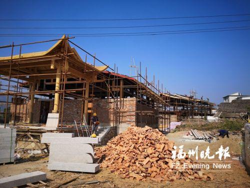 福清一都状元文化街区主体工程春节前完工