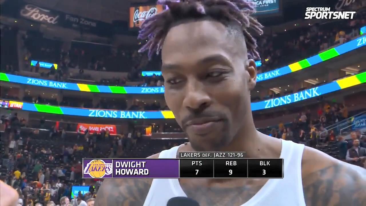 霍华德三分:都没看篮筐 球一出手就知道要进了