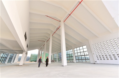 平潭驾考中心一期主体完工 月底有望具备科目一考试条件