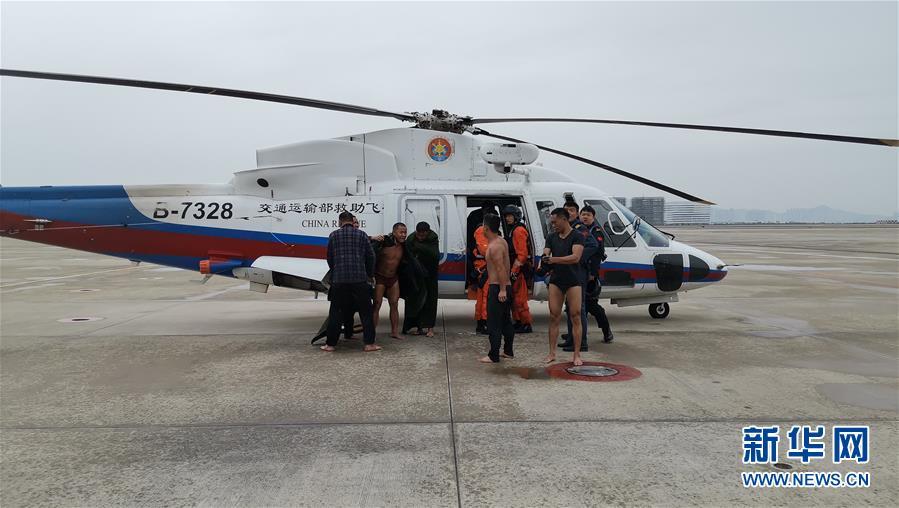 福建漳州海域一艘渔船自沉致4人失联