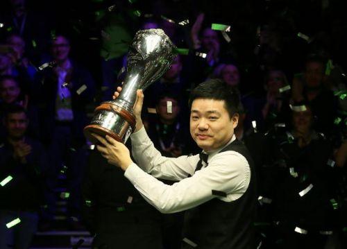 斯诺克-丁俊晖英锦赛冠军 10-6击败马奎尔