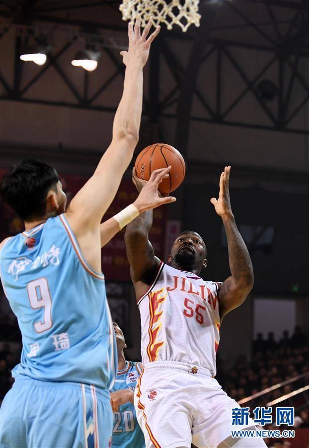 (体育)(8)篮球——CBA常规赛:吉林九台农商银行胜新疆伊力特
