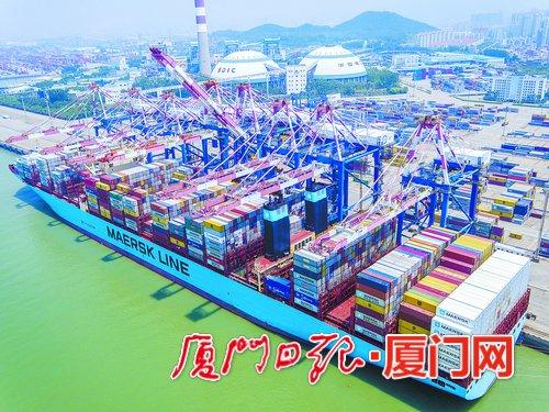 廈門港集裝箱吞吐量今年將達1110萬標箱
