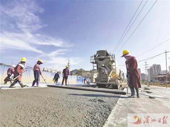 莆田洋西片区八期周边道路配套工程有序推进