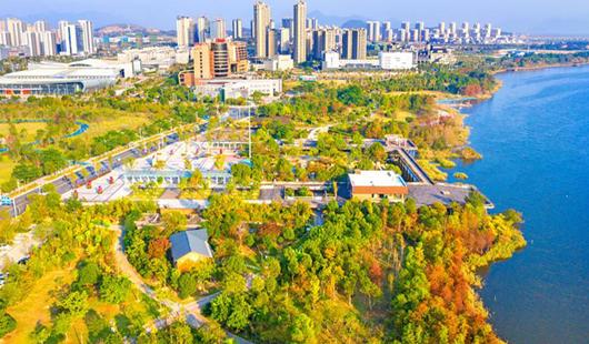 福建寧德:廣植花草樹木 打造綠色屏障