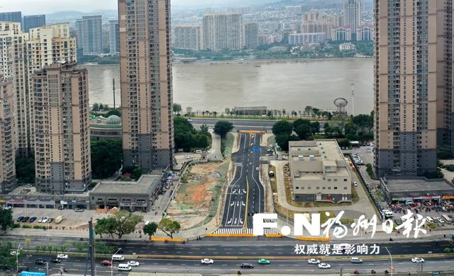 福州瀛江路本月底開放通行 串起排尾路和江濱中大道