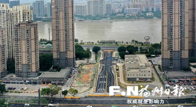 福州瀛江路本月底开放通行 串起排尾路和江滨中大道