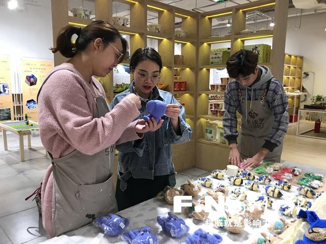 福州定西貧困婦女產品展銷館落戶東二環泰禾廣場
