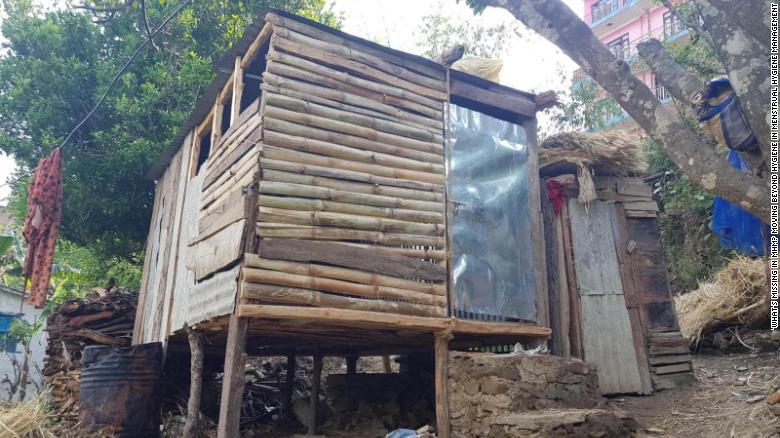 尼泊尔的一个月经小屋(图源:CNN)