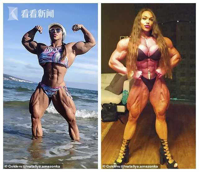 最强壮金刚芭比组图 最强壮金刚芭比:不在乎丈夫二头肌小