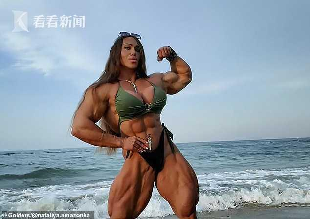最强壮金刚芭比组图最强壮金刚芭比:不在乎丈夫二头肌小