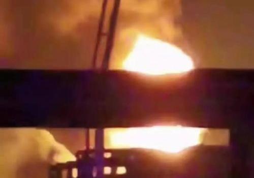 抚顺石油二厂起火怎么回事?抚顺石油二厂起火原因是什么现场图曝光