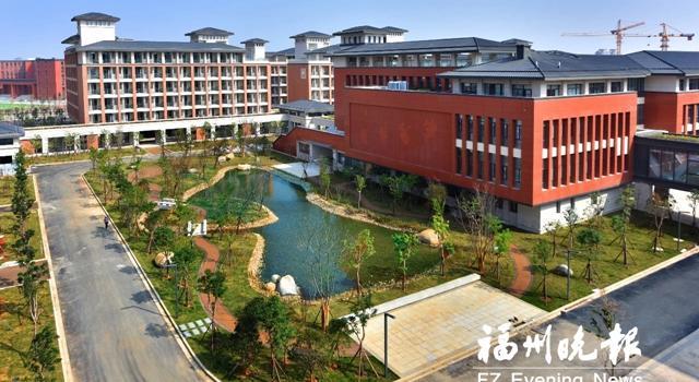 福州三中滨海校区主体建成 春节后全面投入使用