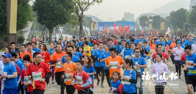 福州国际马拉松赛周日开跑 参赛装备今日起开放领取