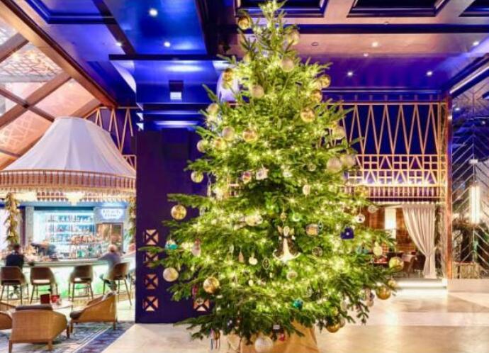 全球最贵圣诞树长什么样子 整颗树镶满钻石网友调侃摸一下都怕被抓