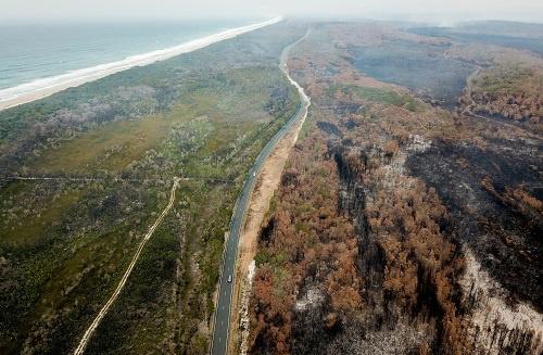 新西兰冰川变红怎么回事 澳大利亚林火的灰尘颗粒覆盖在冰川之上