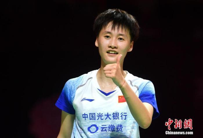 逆转!陈雨菲2-1戴资颖 首夺羽联总决赛冠军