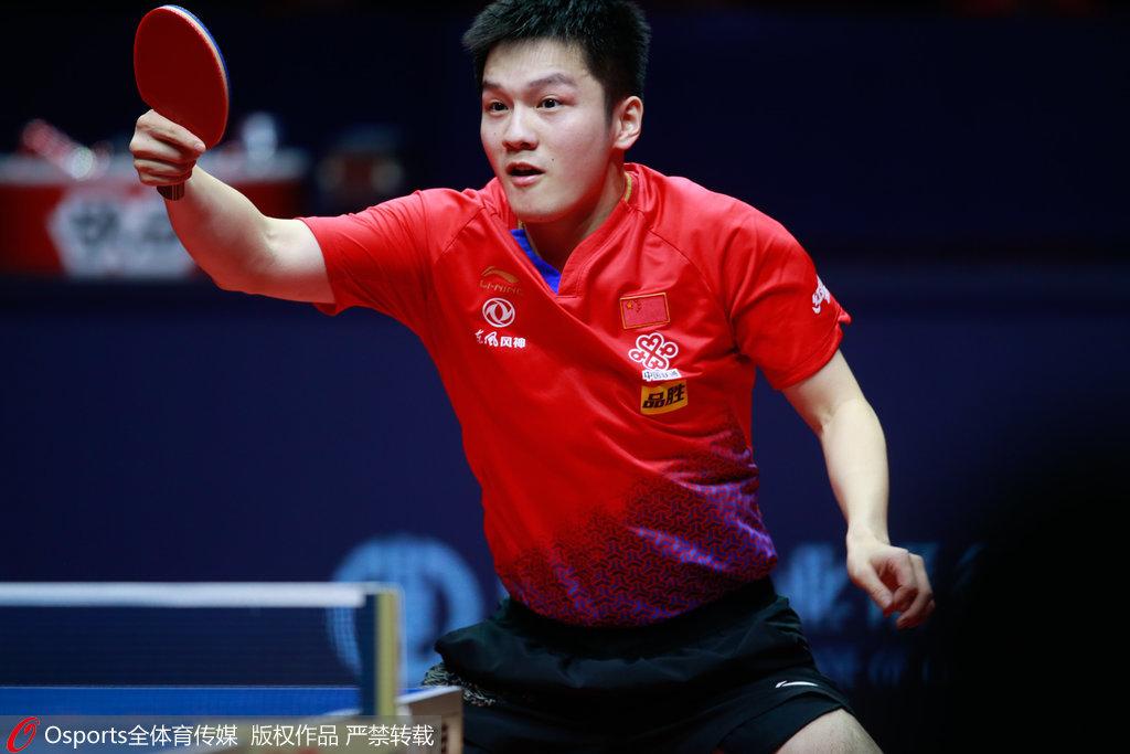 樊振東勝馬龍比分4-1 乒聯總決賽男單第二次奪冠