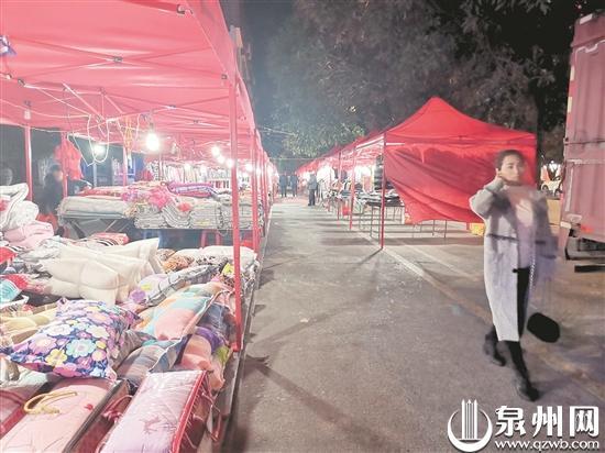 泉州兴贤路王宫段动态整治规范管理 夜市变整洁了