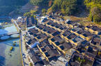福建寧德:屏南農村人居環境換新顏