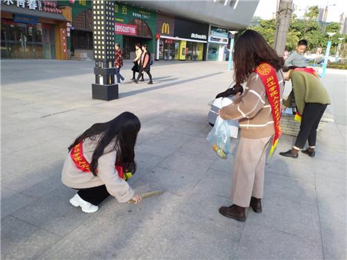 """閩江學院開展""""暖冬行,愛傳遞""""志愿活動"""