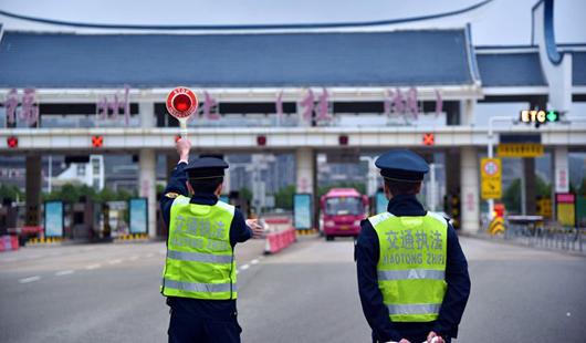福州交通执法支队开展统一执法行动