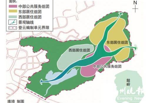福州登云片区将升级 构建高品质生活住区