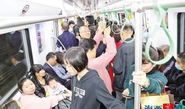 廈門2號線25日即將運營 近27萬試乘市民點贊便捷