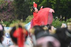 福建福州:漢服游園迎冬至
