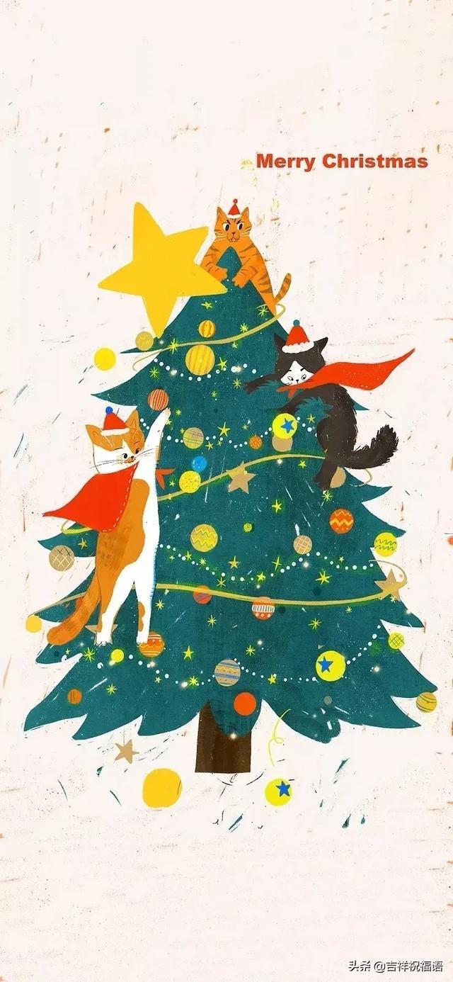 圣诞节中英文祝福语精选图片