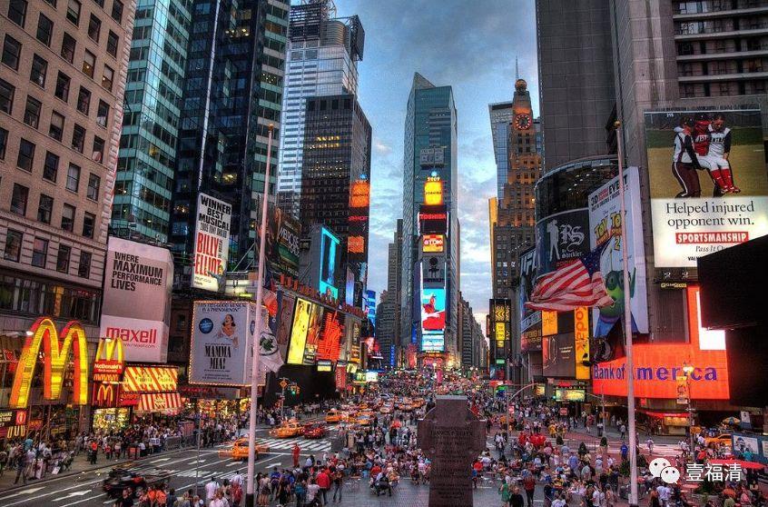 """让全世界看见!福清""""霸屏""""美国纽约时报广场"""