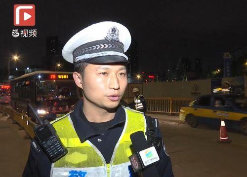 福州交警严查酒驾醉驾违法行为 一晚查处40起