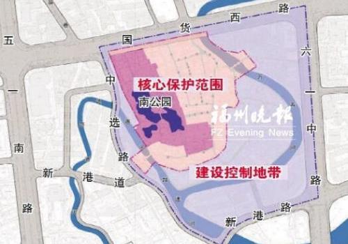 """超8公顷!福州南公园区域将现""""清明上河图""""景象"""