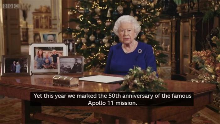 英国女王圣诞致辞