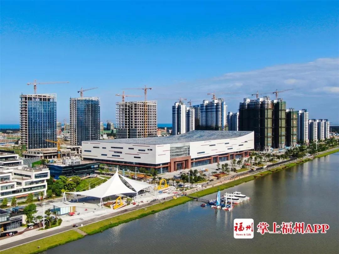 超580亿元砸下!福州滨海新城18个重大项目集中开工