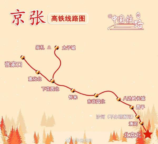 京张高铁今日开通意味着什么京张高铁主要站点都有哪些