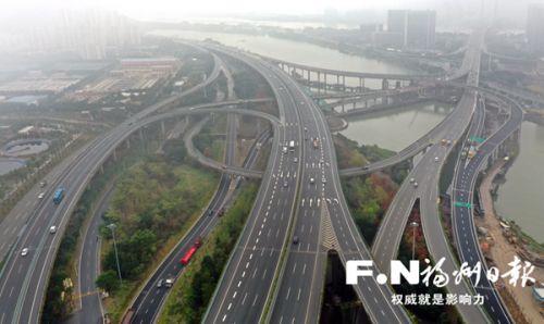 福州国货互通立交改造工程核心工程基本建成 新增4条匝道