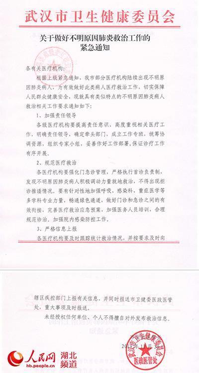 武汉发现不明原因肺炎是真的吗 事件始末详情官方最新回应说了什么