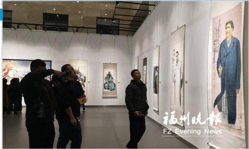 黃迪杞作品展在福清開幕 展示各時期代表作70幅