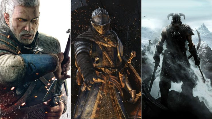 過去十年最佳RPG游戲 《巫師3》《上古5》均上榜