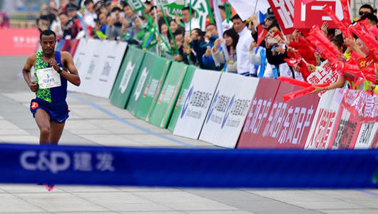 马拉松——2020厦门马拉松赛况