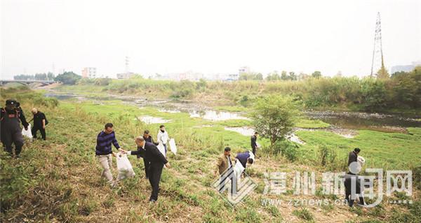 漳州在全省率先開展社區矯正對象參與巡河機制