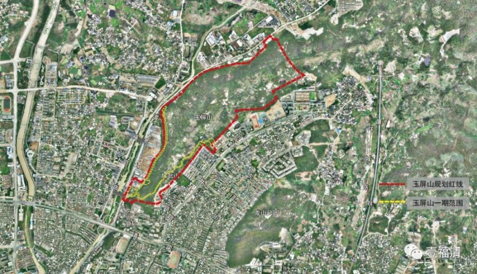 占地37.3亩,福清群众期待的玉屏山公园动建了!