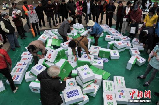 西班牙流行起中国麻将 民众感到尤为新鲜