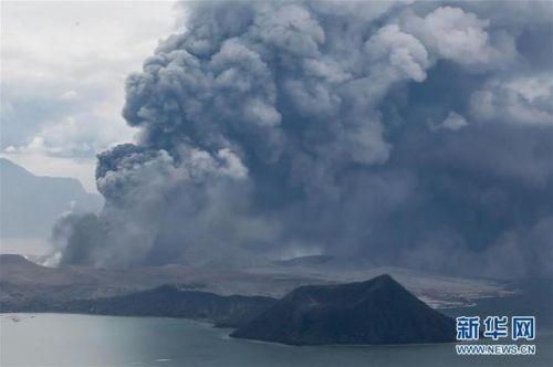 菲律賓火山噴發怎么回事 塔阿爾火山附近約1萬名居民已疏散