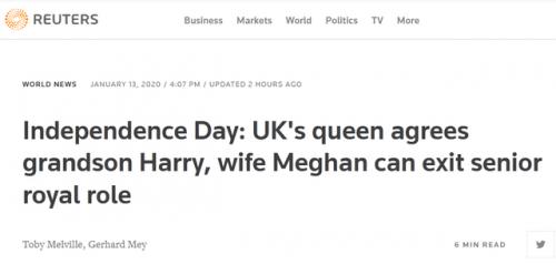 女王支持哈里决定怎么回事? 哈里做了什么决定获得了女王支持