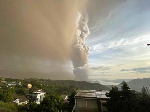 菲律宾火山喷发什么情况 马尼拉国际机场航班随即暂停